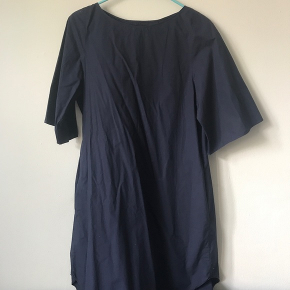 COS Dresses & Skirts - COS Cotton Shift Navy Dress